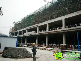 勒泰中心工程进度(2016.11.22)