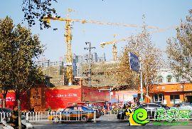 勒泰中心实景图(2016.11.30)