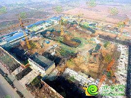 萬浩紅璽城航拍工地實景圖(2016.12.7)