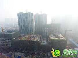 阳光新卓广场航拍实景(2016.12.04)