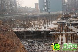 盛锦花园工地实景(2016.12.18)