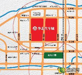华北汽车城区位图
