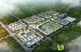 华北汽车城鸟瞰图