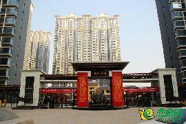 锦绣江南北区入口(2017.1.13)