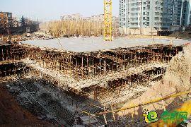 盛锦花园工地实景(2017.1.14)