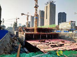 勒泰中心实景图(2017.1.22)
