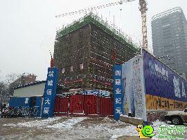 萬融大廈在建實景圖(2017.2.22)