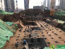 金百合北区工地实景图(2.26)