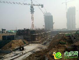 万浩红玺城工地实景图(2017.2.5)