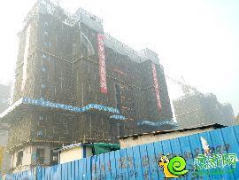 荣盛观邸工地实景(2017.2.5)