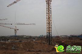 未来城工地实景图(201.2.7)