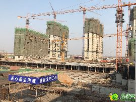 萬浩紅璽城工地實景圖(2017.2.23)