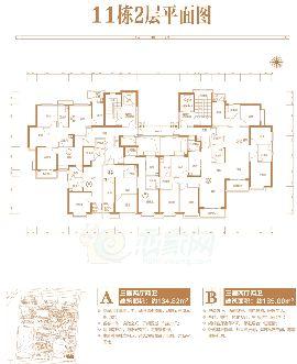 11号楼2层平面图