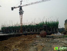 万浩红玺城工地实景(2017.3.11)