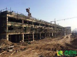 首期商铺建设进度(2017.3.4)