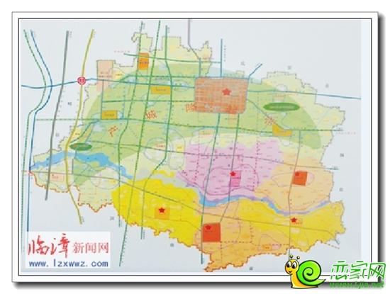 临漳县城地图街道