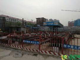 碧桂园天玺工程实景(4.24)