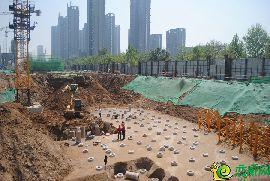 金百合北区工地实景图(4.23)