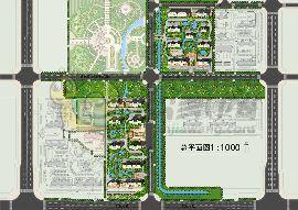 荣盛公园印象总平图