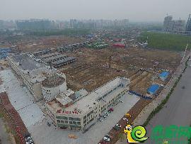 华北汽车城航拍图(2017.4.11)