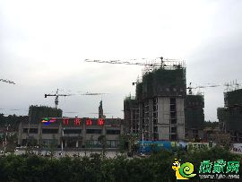 万浩新城工地实景图(2017.5.15)