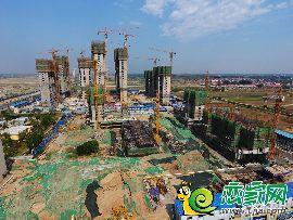 荣盛观邸航拍工地(2017.5.18)