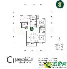远邦花园3#C户型