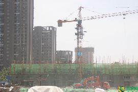 金百合北区工地实景图(2017.5.14)