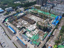 锦绣兰庭航拍工地实景(2017.5.23)
