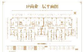 1号楼商业一层平面图