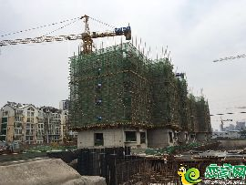 锦绣兰庭工地实景(2017.6.18)