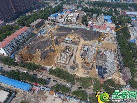 碧桂園天譽航拍實景圖(2017.6.19)