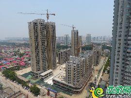 兆通华苑航拍实景图(2017.6.21)