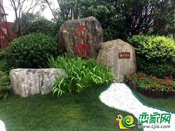碧桂园雨后园林景观图片