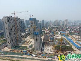 万浩俪城东区航拍实景图(2017.6.22)