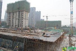 金百合北区工地实景图(2017.6.13)
