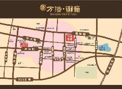 万浩御城区位图