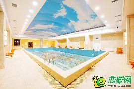 恒大龙庭游泳馆实景图