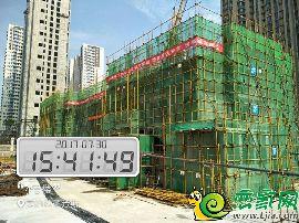 美的拉德芳斯4#楼实景图(2017.8.1)