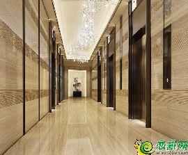 一楼大堂电梯间