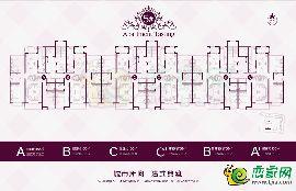 紫御豪庭5#平面图