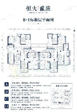 8-1标准层平面图