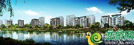 东尚名邸沿河人视图