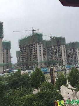 万浩新城工地实景图(2017.8.17)