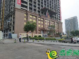 壹公馆售楼处实景图(2017.8.29)
