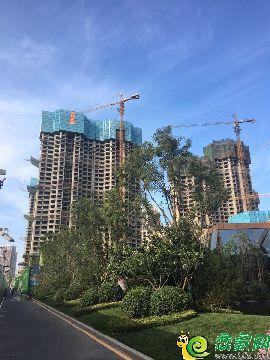 恒大翡翠华庭航拍实景图(2017.9.24)
