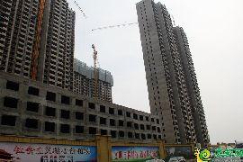 万浩俪城东区实景图(2017.9.3)