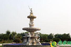 巴黎王府园林实景图