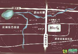 翰林琴苑区位图