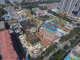 碧桂園天譽航拍實景圖(2017.9.22)